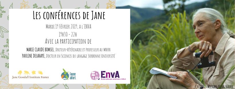 [Conf 19 février] Les conférences de Jane