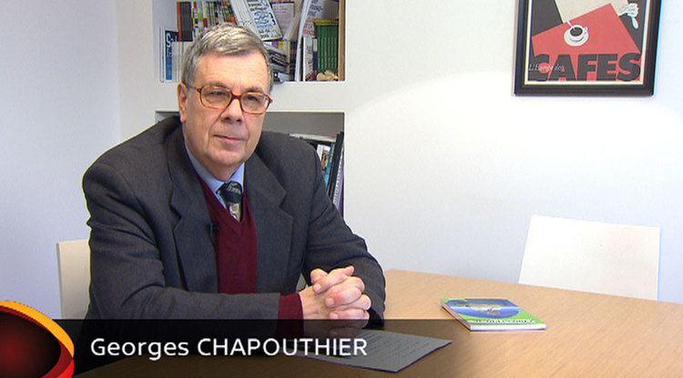 [Entretien] Interview de Georges Chapouthier par Hédi Bouraoui